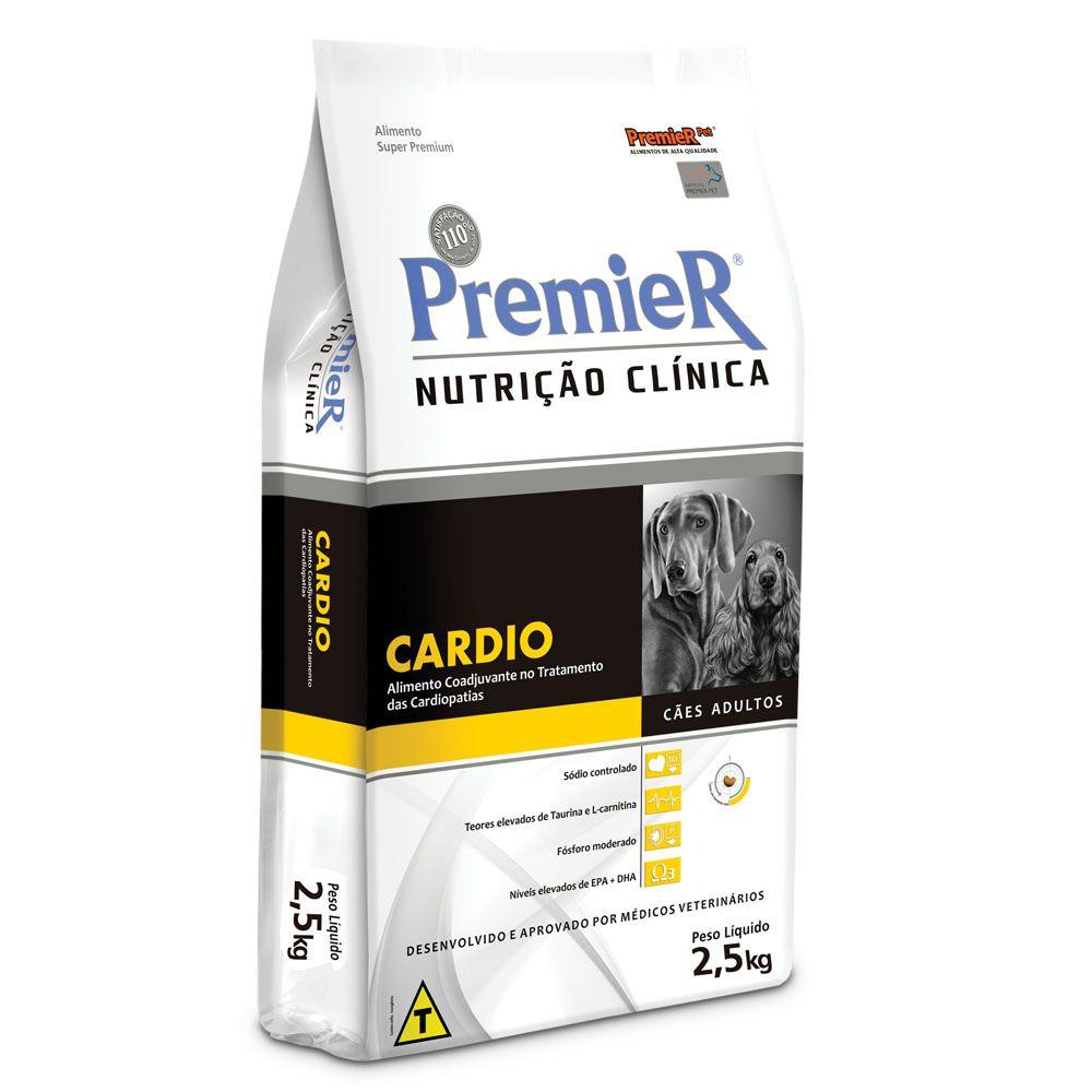 Ração Premier Nutrição Clínica Cardio para Cães Adultos - 2Kg