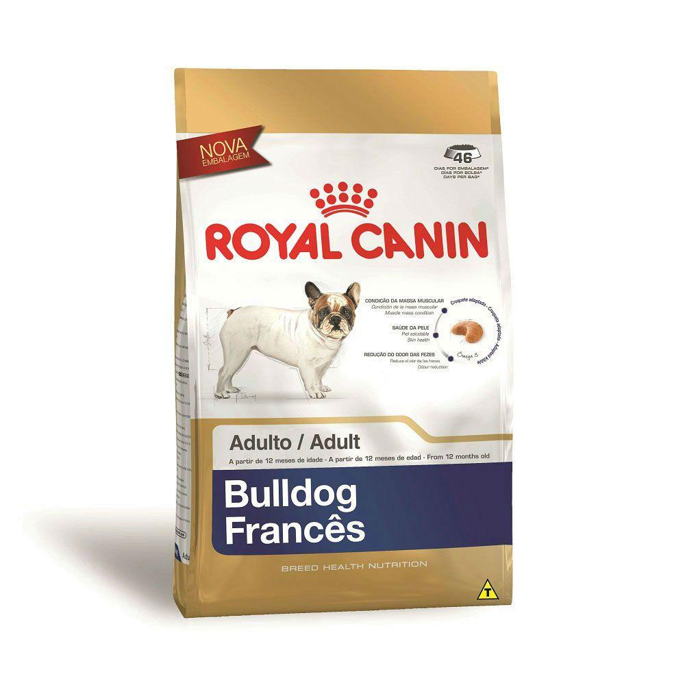 Ração Royal Canin Bulldog Francês - Cães Adultos 2,5kg
