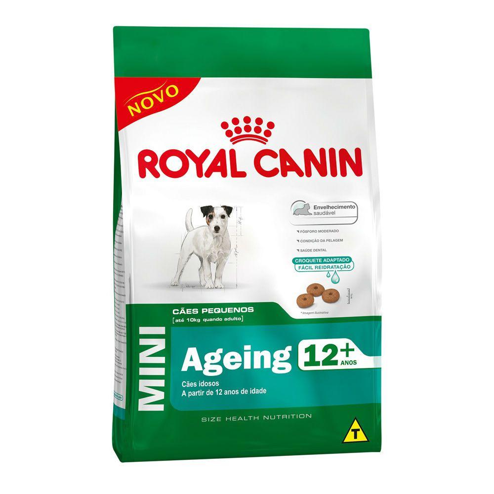 Ração Royal Canin Mini Ageing 12+ Cães Sênior (1Kg)