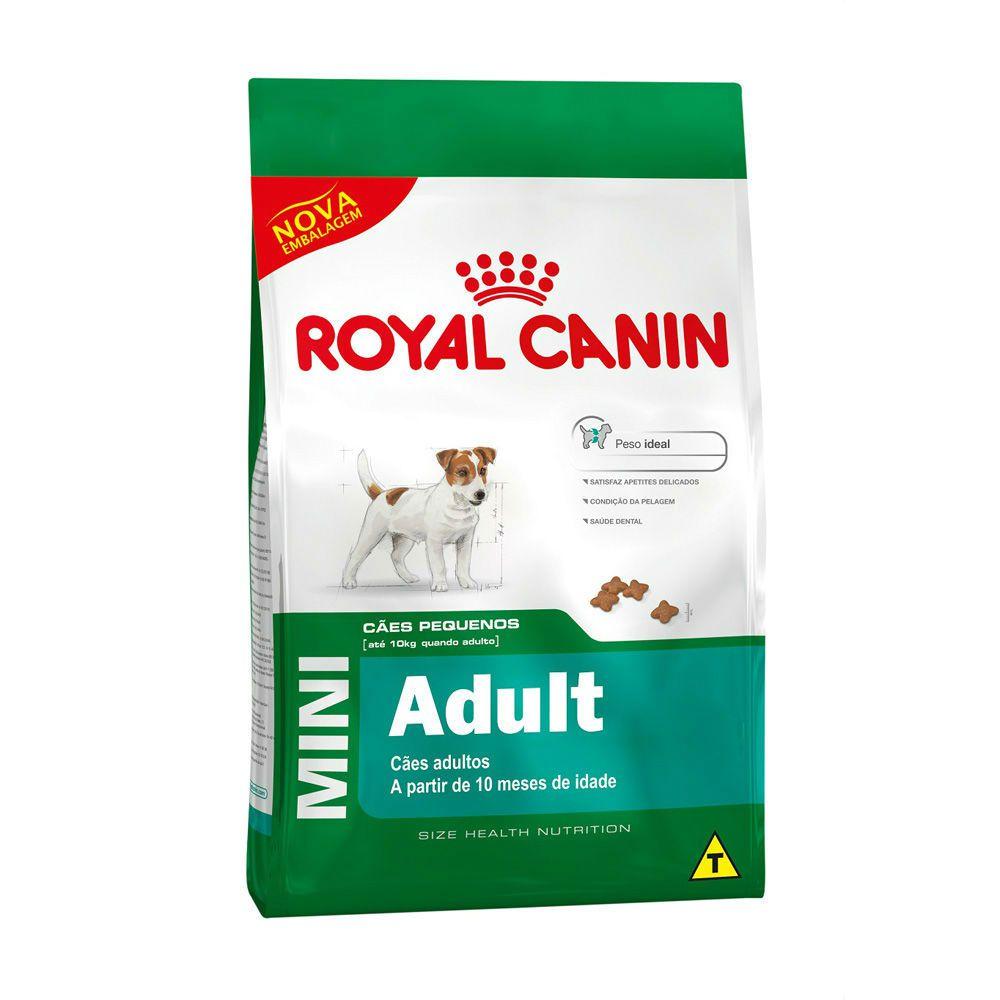 Ração Royal Canin Mini - Cães Adultos 1Kg