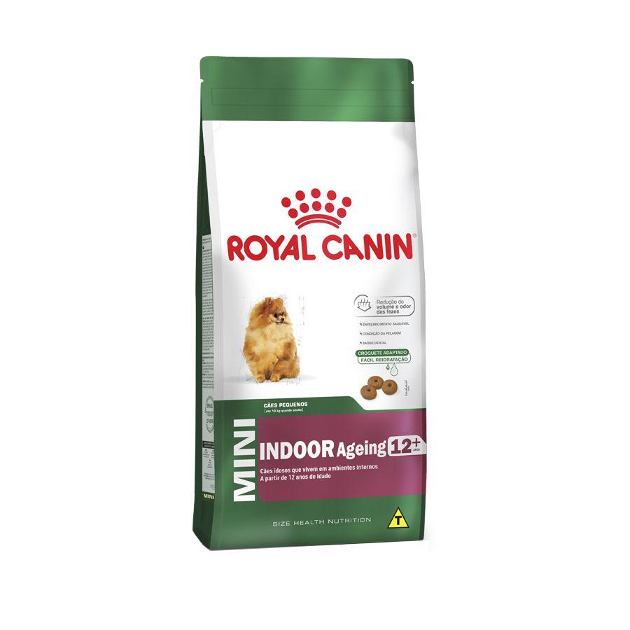 Ração Royal Canin Mini Indoor - Cães Adultos (1Kg)