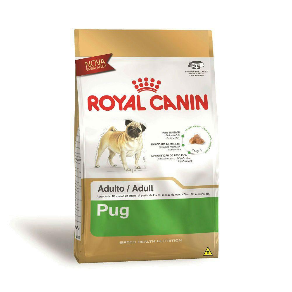 Ração Royal Canin Pug - Cães Adultos (2,5Kg)