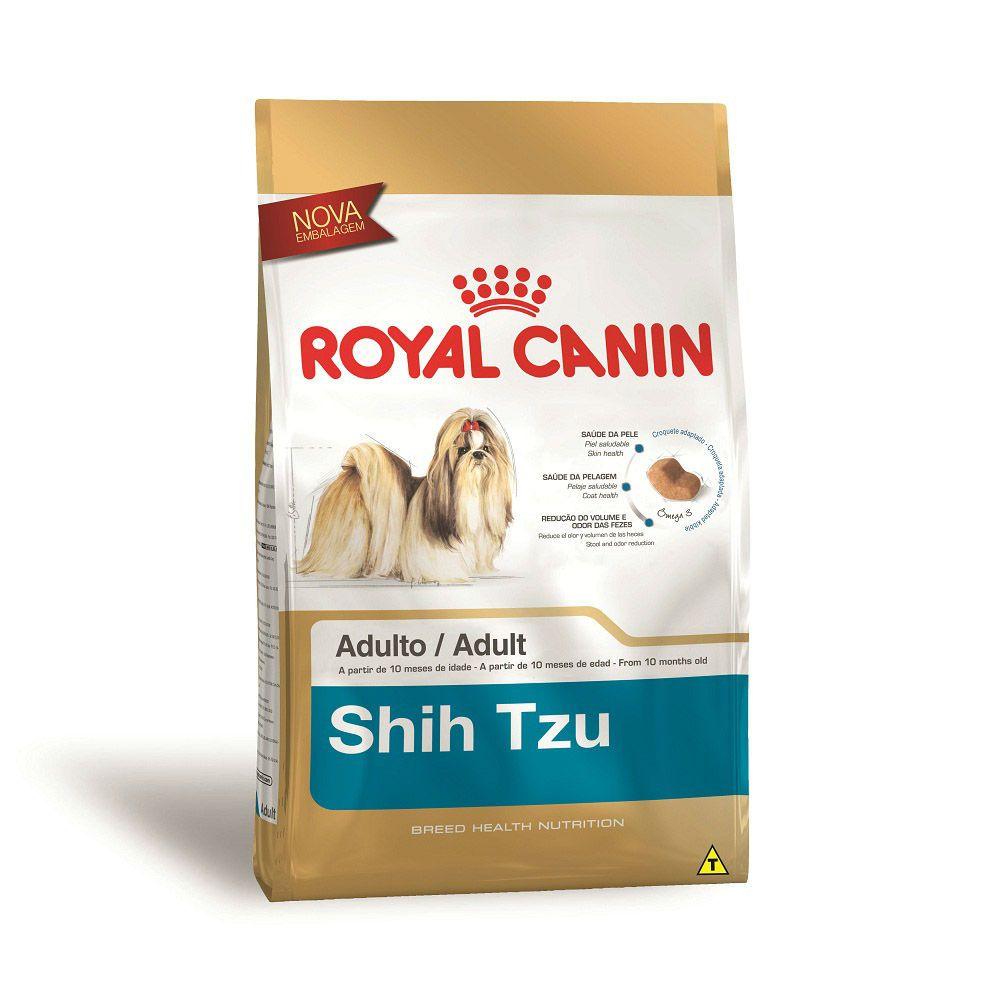 Ração Royal Canin Shih Tzu - Cães Adultos (1Kg)