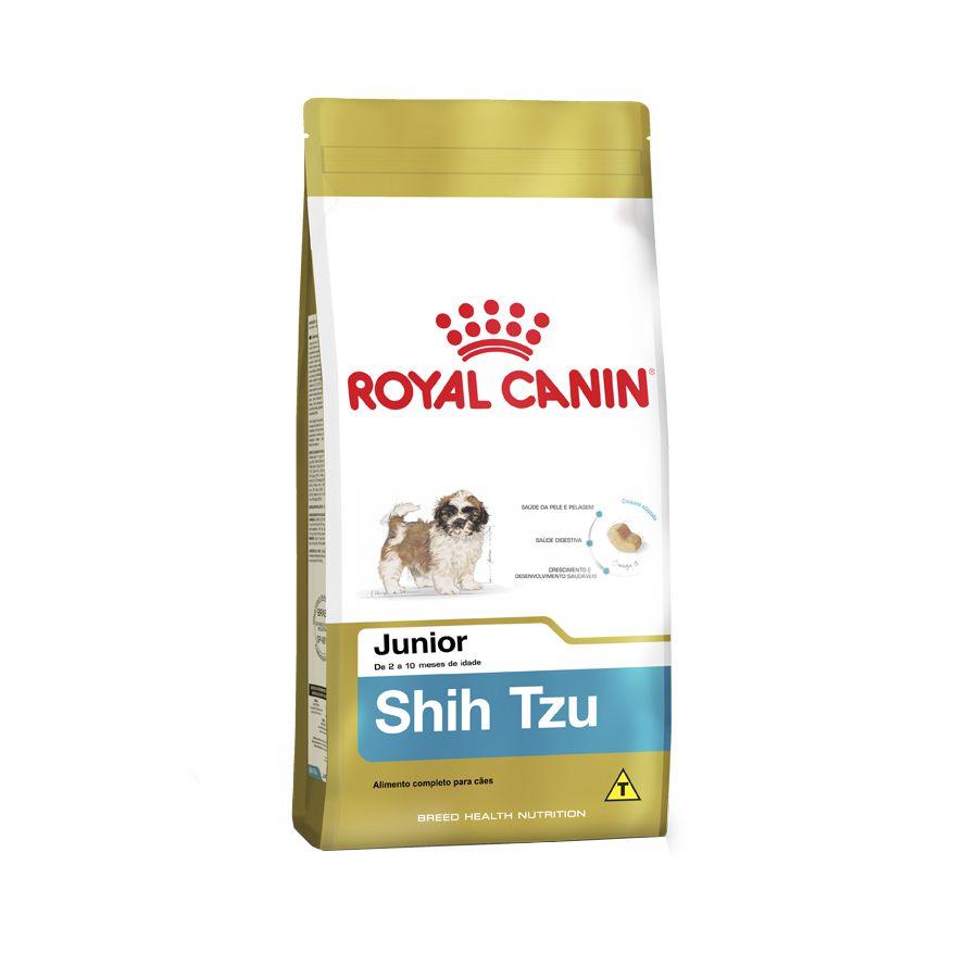 Ração Royal Canin Shih Tzu - Cães Filhotes