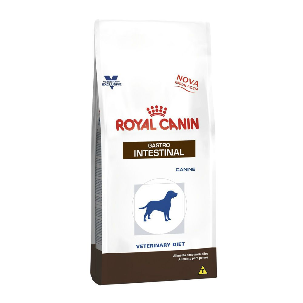 Ração Royal Canin Veterinary Gastro Intestinal - Cães Adultos (2Kg)