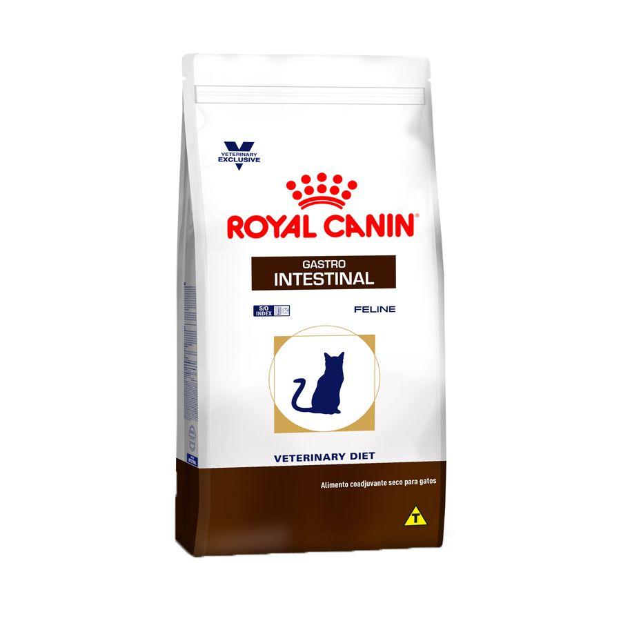 Ração Royal Canin Veterinary Gastro Intestinal para Gatos Adultos - 1,5kg