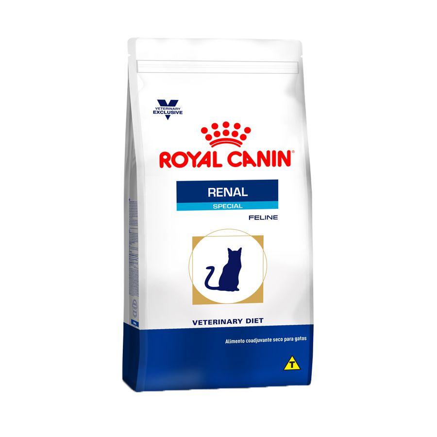 Ração Royal Canin Veterinary Renal Special para Gatos Adultos (500g)