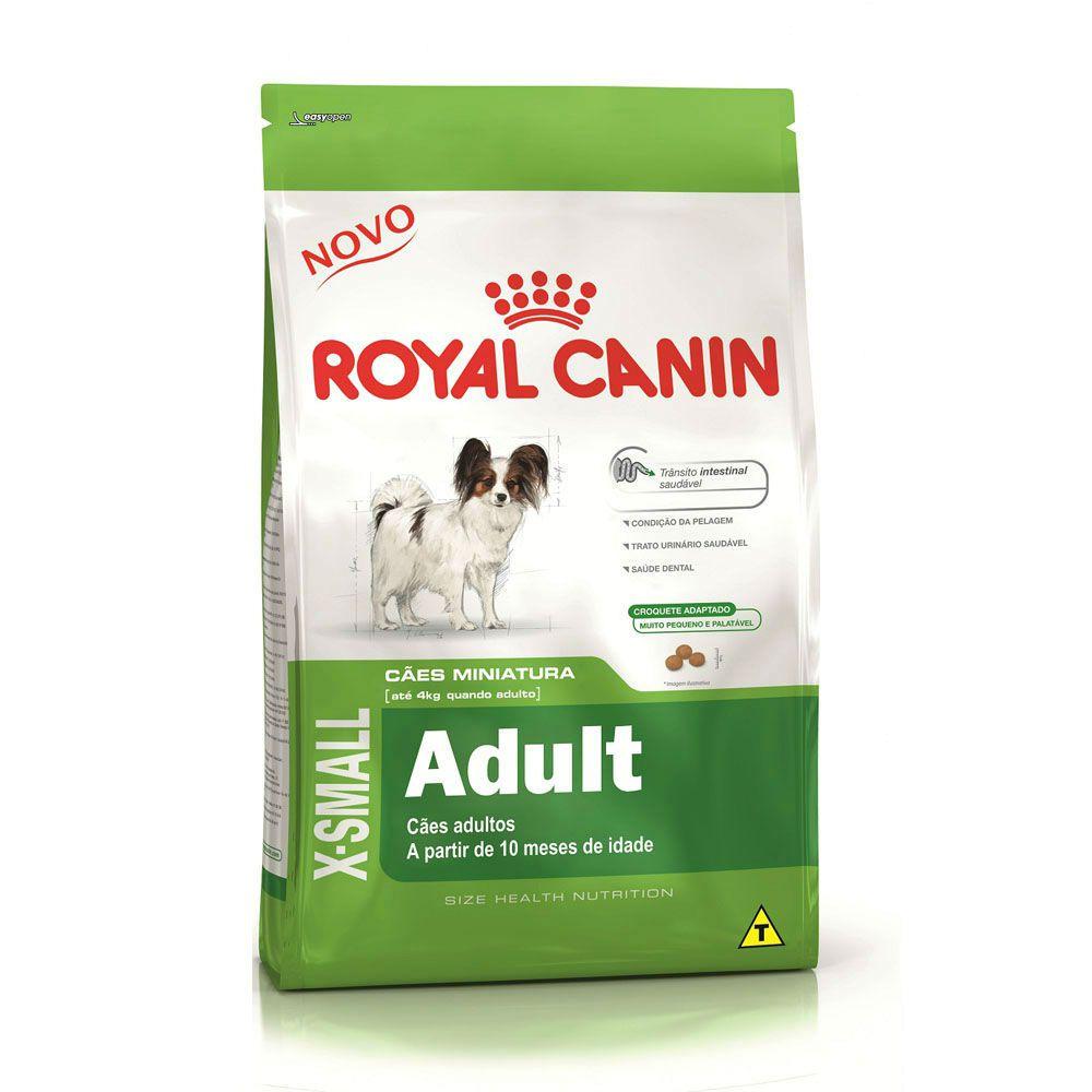 Ração Royal Canin X-Small para Cães Adultos (1Kg)