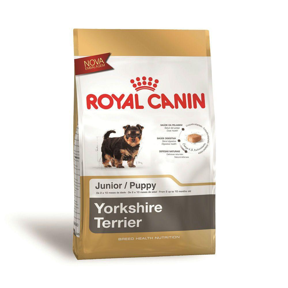 Ração Royal Canin Yorkshire Terrier - Cães Filhotes