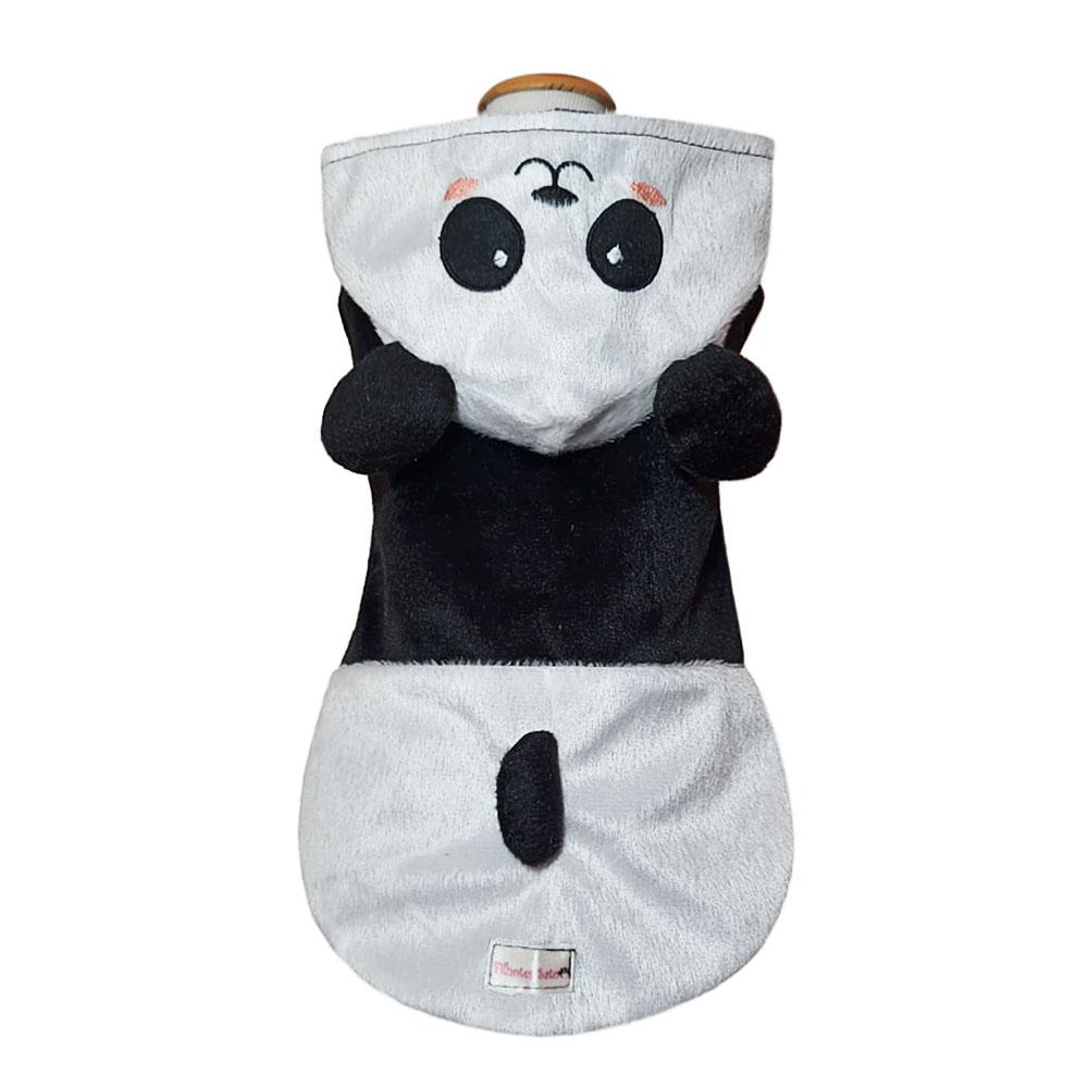Roupinha para Cachorro e Gato - Fantasia Ursinho Panda
