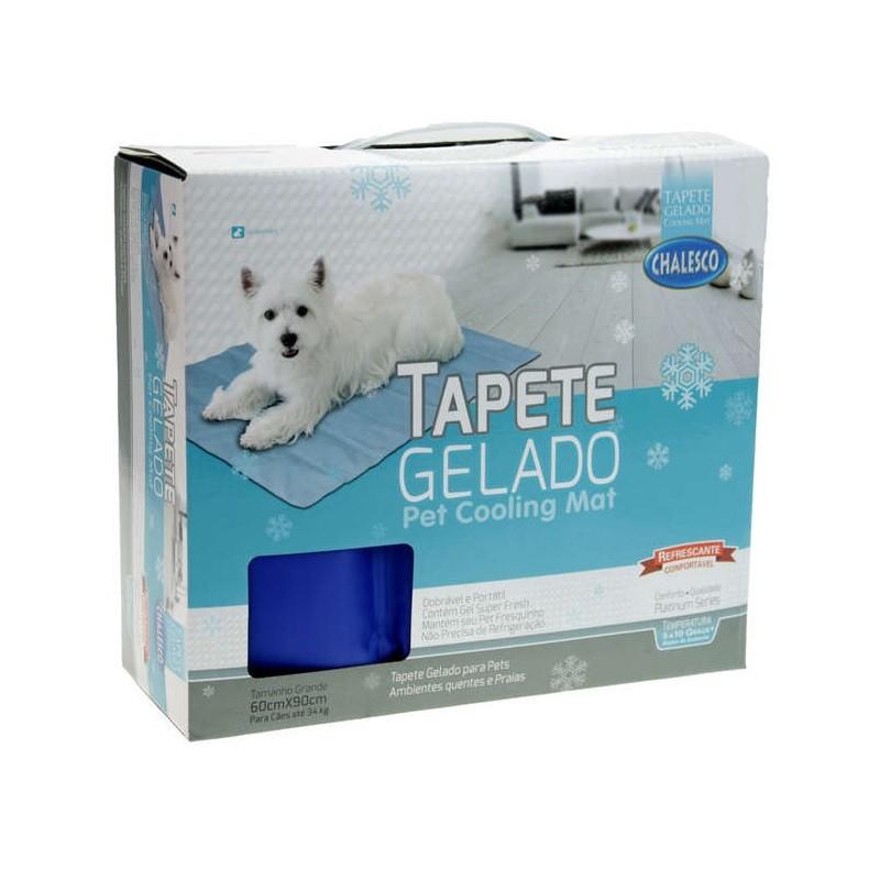 Tapete Gelado para Cachorros Pet Cooling Mat 60x90
