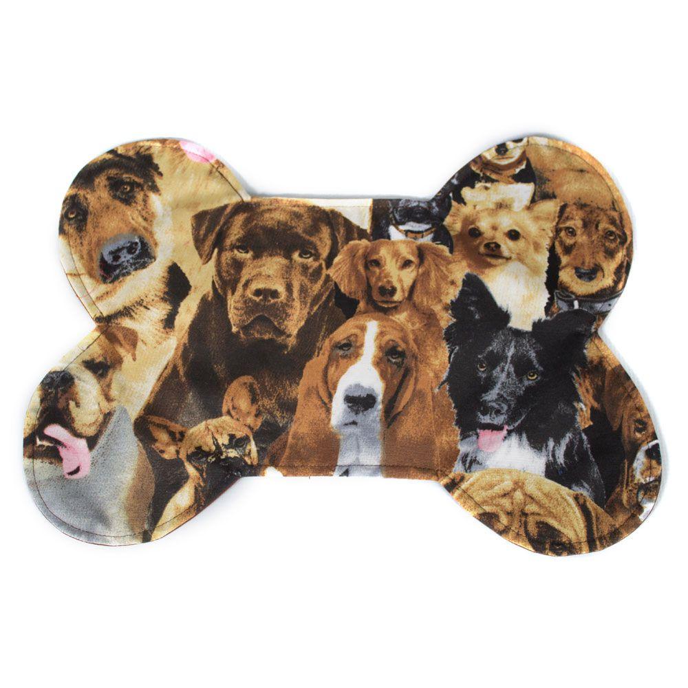 Tapete para Comedouro Senhor Bicho - Tamanho Único - Dogs