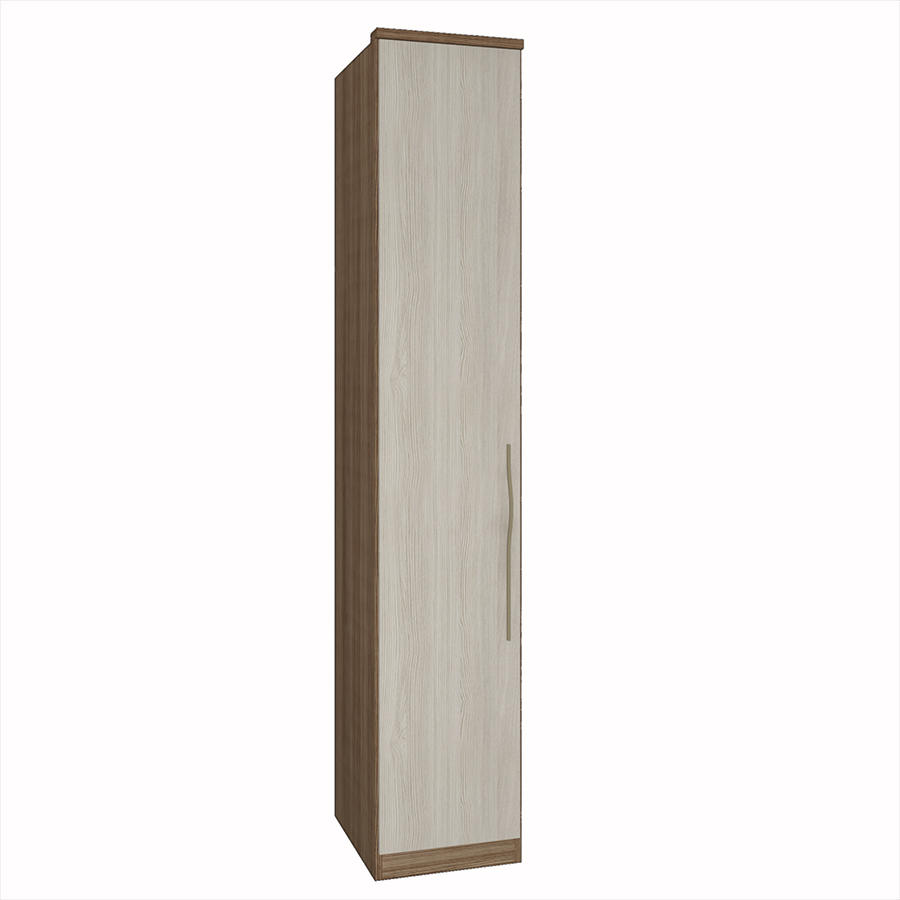 Modulo 1 Porta Setiba 428mm com Prateleiras Rimo Freijo/Savana