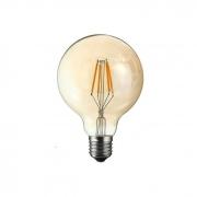 16x Lâmpada Filamento LED 4W G95 Bivolt E27