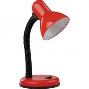 Abajur Luminária de Mesa Articulável Vermelha E27 Bivolt