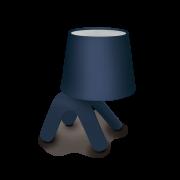 Luminaria Abajur de Mesa Pet Light Azul 1E27 16x23CM CA016/06X