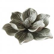Adorno Flor Decorativa Ceramica Verde DL0044