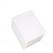 Arandela Box 2 Focos Branca 1G9 10x12cm Externa