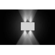 Arandela Branca de Led 4W 6500k Bivolt 12,5cm