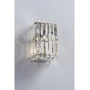 Arandela Cristal Trento Transparente 14X23CM 1XG9 1023