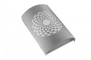 Arandela LED Mosaico Romano Arco 8W 3000K 15X25CM Bivolt