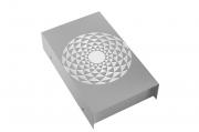 Arandela LED Mosaico Romano Reta 8W 3000K 25X15CM Bivolt