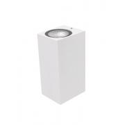 Arandela Retangular Essen 2 Fachos Branco Fosco LED 6W 3000K Bivolt