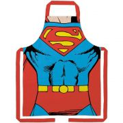 Avental Algodão Superman Body 70x80cm BTC