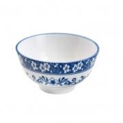 Bowl de Porcelana Blue Garden 12x6cm 8484 Lyor