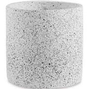 Cachepot em Cimento Quartzo 19x17,5cm 11519 Mart