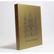 Caixa Livro Decorativa Book Box Cathedral Metalizado 30x23,5cm Goods BR