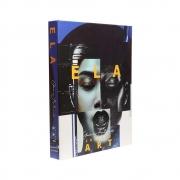 Caixa Livro Decorativa Book Box Ela Collage Art 30x23,5cm Goods BR