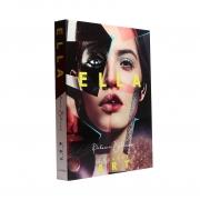 Caixa Livro Decorativa Book Box Ella Collage Art 30x23,5cm Goods BR