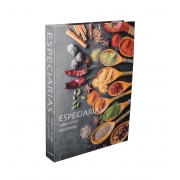 Caixa Livro Decorativa Book Box Especiarias 36x26,5cm Goods BR