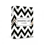 Caixa Livro Decorativa Book Box Geometric 30x23cm Goods BR