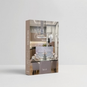 Caixa Livro Decorativa Book Box Interiores Tons Neutros 30x23cm Goods BR