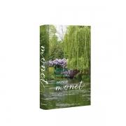 Caixa Livro Decorativa Book Box Jardins de Monet 36x26,5cm Goods BR