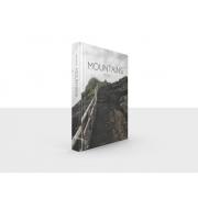 Caixa Livro Decorativa Book Box Mountains 26x20cm Goods BR