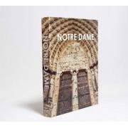 Caixa Livro Decorativa Book Box Notre Dame 30x23,5cm Goods BR