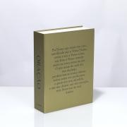 Caixa Livro Decorativa Book Box Oração Pai Nosso 26x20cm Goods BR