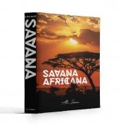 Caixa Livro Decorativa Book Box Savana Africana 26x20cm Goods BR