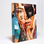 Caixa Livro Decorativa Book Box Sie Collage Art 30x23,5cm Goods BR