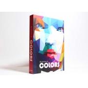 Caixa Livro Decorativa Book Box The Power of Colors 36x26,5cm Goods BR