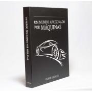 Caixa Livro Decorativa Book Box Um Mundo Apaixonado por Máquinas 30x23cm Goods BR