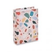Caixa Livro Decorativa Rosa Colors 23x17cm 11065 Mart