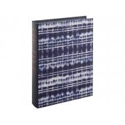 Caixa Livro Decorativa Tie Dye Azul 32x23cm 11791 Mart