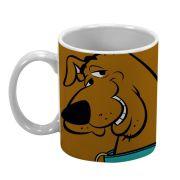 Caneca Porcelana Scooby Doo Marrom 300ml BTC