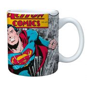 Caneca Porcelana Super Man DC Comics 300ml BTC