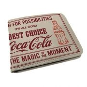 Carteira Coca Cola Magic Moment Bege 26728