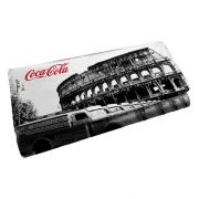 Carteira Coca Cola Rroma Branco/Preto 25056